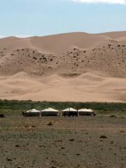 Entre steppes et désert