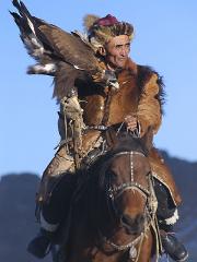 Voyage photo à l'occasion du festival des aigliers en Mongolie
