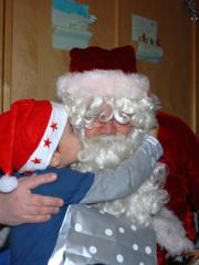 Père Noël en Laponie